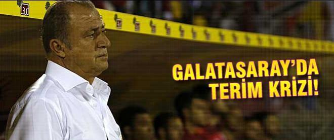 Galatasaray'da Terim krizi