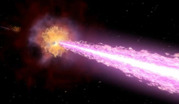 En güçlü Gama ışığı patlaması gözlendi