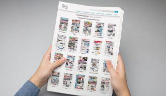 Gazetelerin ilk sayfalarına BİK'in internet sitesinden ulaşılabilecek
