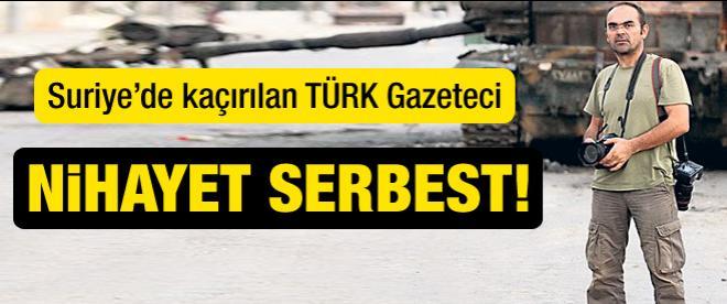 Türk gazeteci serbest