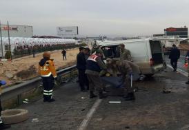 Gaziantep'te feci kaza: 5 ölü, 3 yaralı