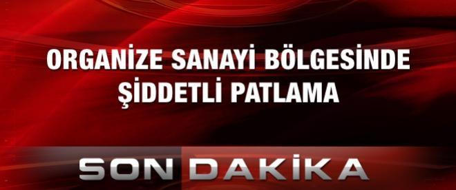 Gaziantep'te doğalgaz borusu patladı
