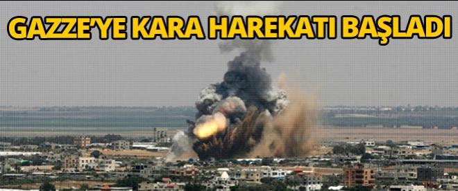 Gazze'ye kara harekatı