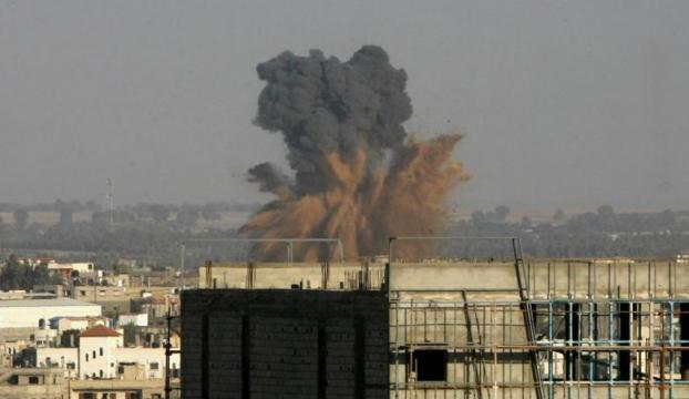 İsrailden Hamas mevzisine saldırı