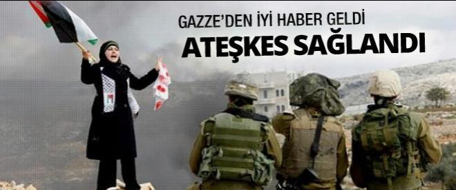Gazze'den iyi haber geldi! Ateşkes sağlandı