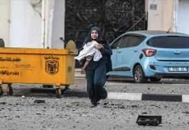 İsrail'in Gazze'ye düzenlediği saldırılarda şehit sayısı 48'e yükseldi