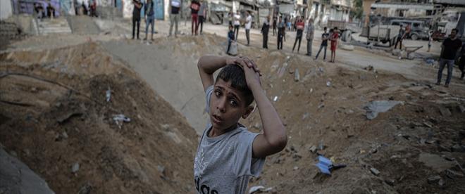 İsrailin Gazzeye düzenlediği saldırılarda can kaybı 230a yükseldi