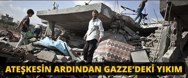 Gazze'deki yıkımın boyutları
