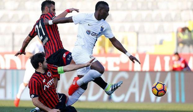 Trabzonspor Ankaradan 1 puanla dönüyor
