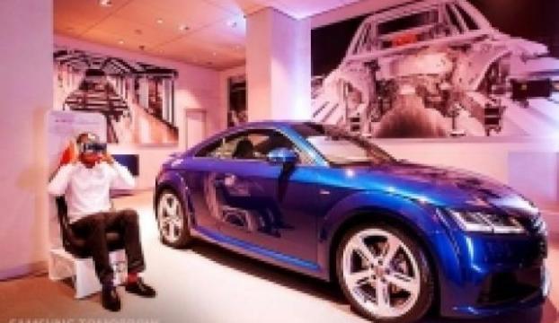 Sanal ortamda Audi TT S Coupe keyfi