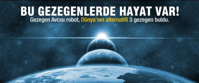 Yaşama elverişli 3 yeni gezegen keşfedildi