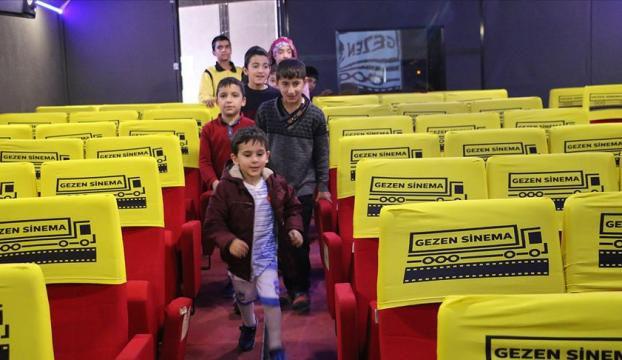 Gezen Sinema Tırı çocukları açık havada sinemayla buluşturacak