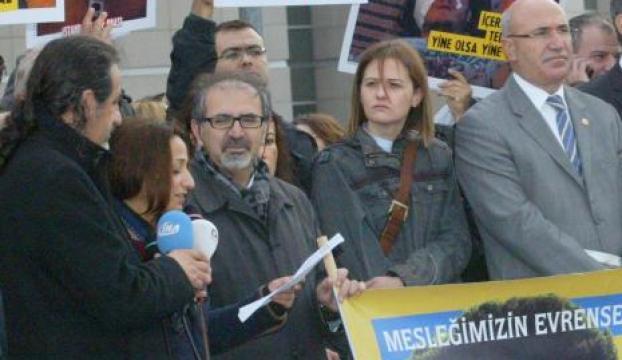 Gezi doktorlarının yargılanması protesto edildi