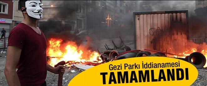 Gezi Parkı İddianamesi tamamlandı