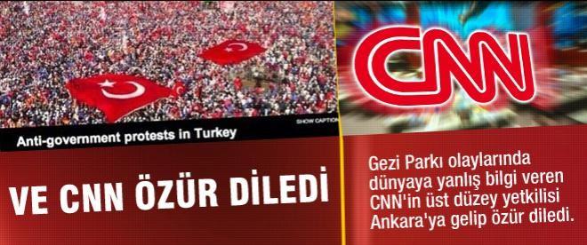 CNN AK Parti'den özür diledi