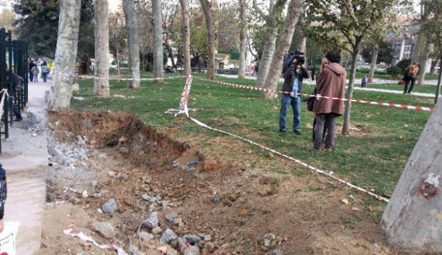 Gezi Parkında çalışmalar durdu
