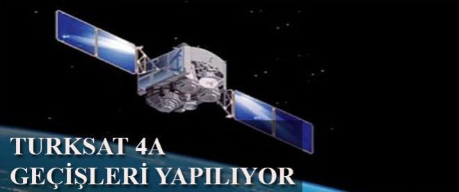 Türksat 4A'ya kanal geçişleri yapılıyor