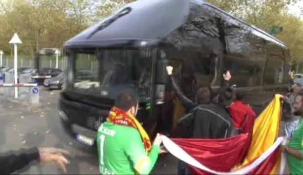 Galatasaray Almanyaya geldi