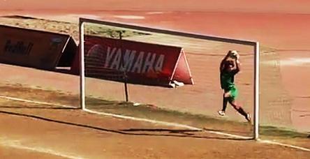 test70 metre'den müthiş gol