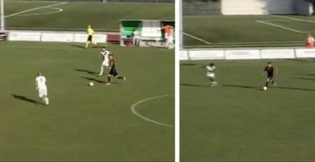 testBu gole İbrahimoviç bile hayran kalırdı