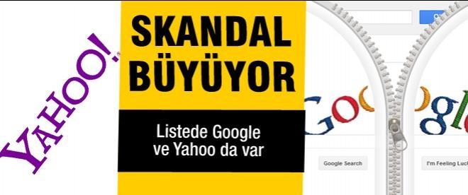 Yahoo ve Google hesapları da NSA'nın takibinde