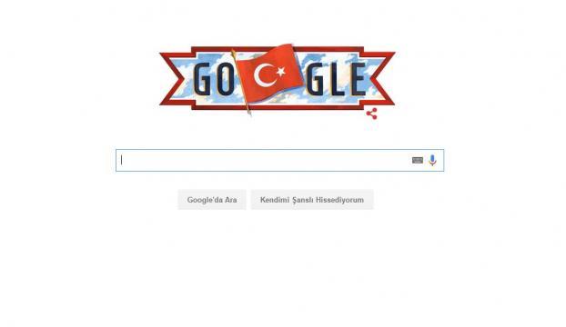 Google, Cumhuriyet Bayramını kutladı