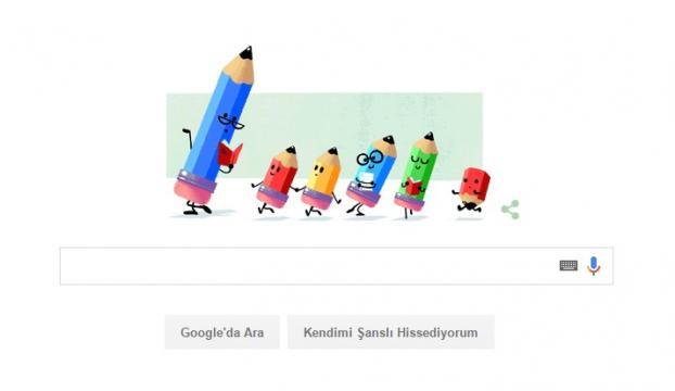 Google, 24 Kasım Öğretmenler Gününü kutladı