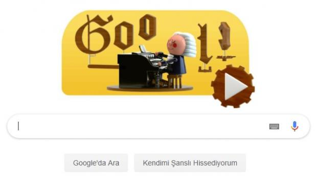 Googledan Bach kutlaması