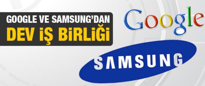 Google ve Samsung'dan dev iş birliği