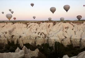 Kapadokya'yı yılın ilk 2 ayında 93 bin turist gezdi