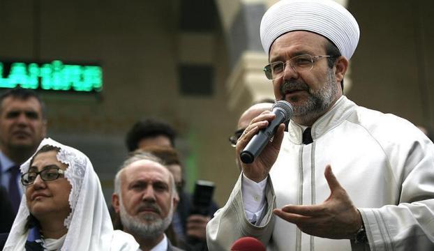Görmez : Ezan yasağı Müslümanların varlığını yok saymaktır