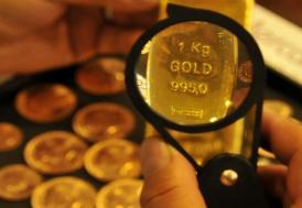 Altının kilogramı 209 bin 400 liraya geriledi