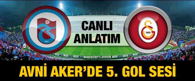 Trabzonspor - Galatasaray maçı canlı anlatım