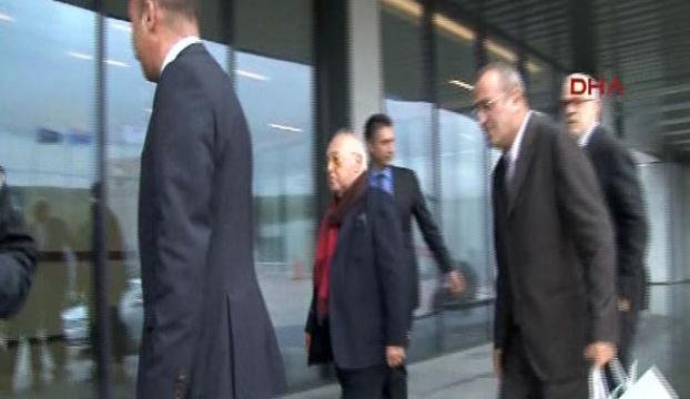 Galatasaray yönetimi TFF binasında