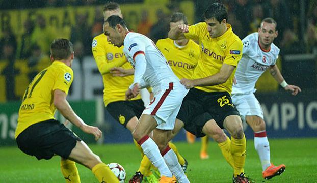 Dortmund adeta bir kişi fazla oynamış