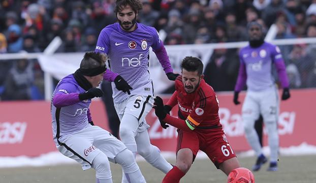 Galatasaray 24 Erzincansporla berabere kaldı