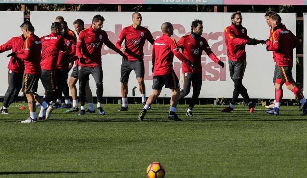 Galatasarayda Osmanlıspor maçı hazırlıkları
