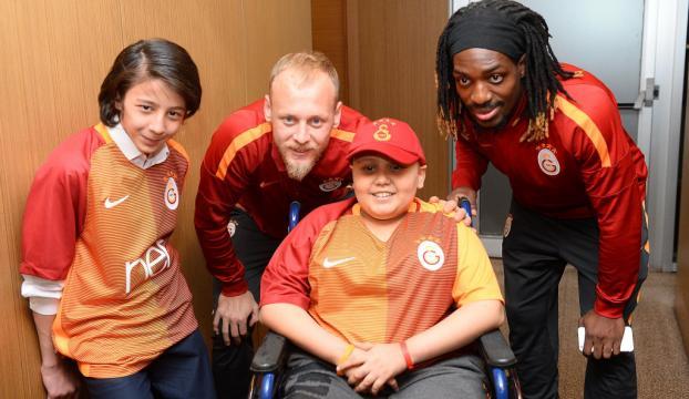 Galatasaray kampına özel misafir