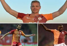 Galatasaray, 3 oyuncuyla yollarını ayırıyor