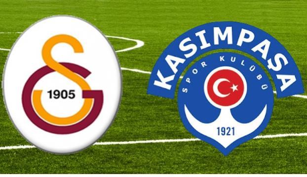 Kasımpaşa, Galatasaraya konuk oluyor
