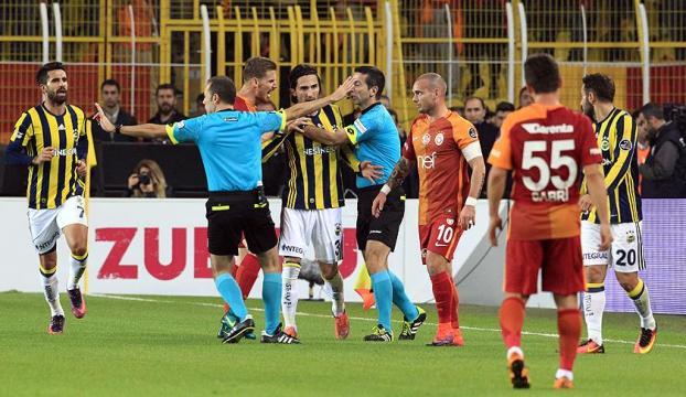 Fenerbahçe ve Galatasaray PFDKya sevk edildi