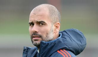 Guardiola ayın teknik direktörü seçildi
