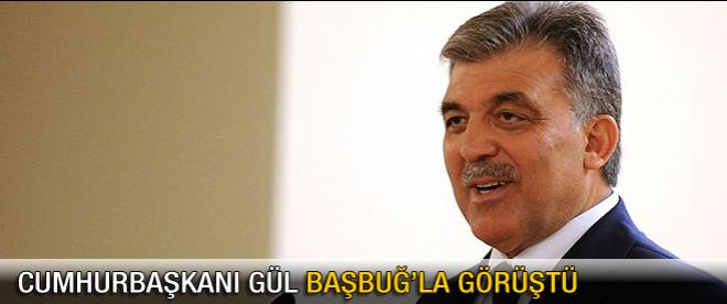 Cumhurbaşkanı Gül'den Başbuğ'a telefon