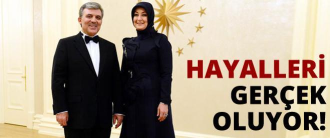 Gül çifti İstanbul'a taşınıyor