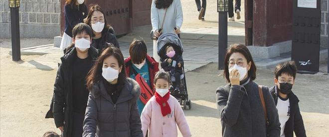 Güney Korede okullar kademeli olarak yeniden açılmaya başladı
