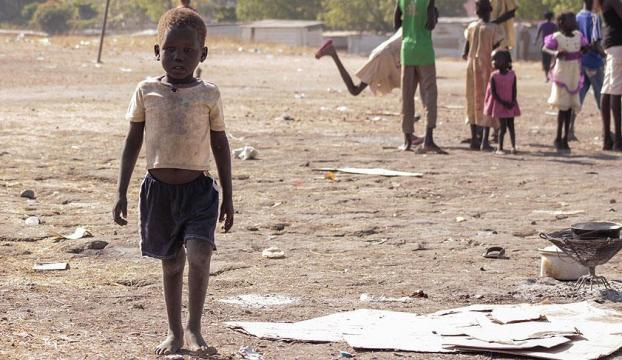 Güney Sudanda nüfusun yarısından fazlası açlık tehdidi altında