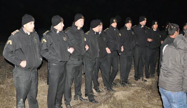 Somada güvenlikçiler ayaklandı