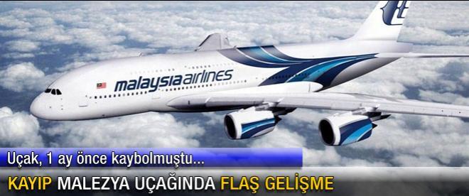 Kayıp Malezya uçağında flaş gelişme