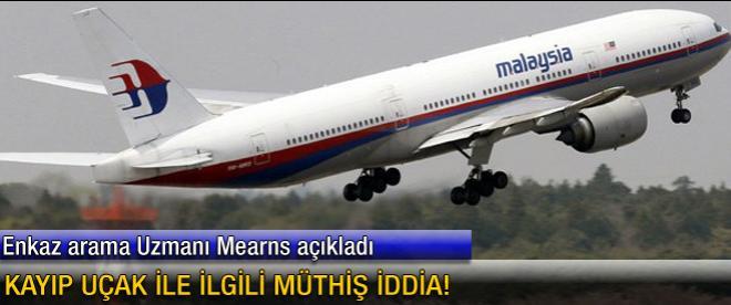 Kayıp uçak ile ilgili müthiş iddia