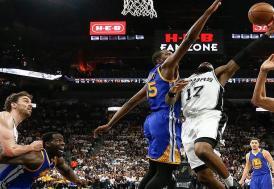 NBA'de ilk finalist Warriors